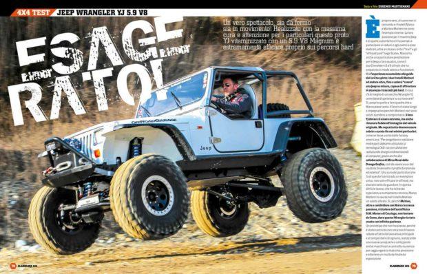 Jeep Wrangler YJ 5.9 V8